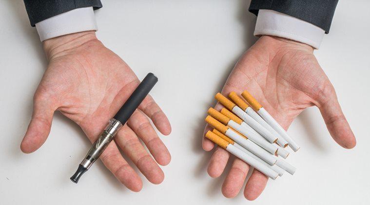 Cigarros eletrônicos são menos prejudiciais do que cigarros habituais