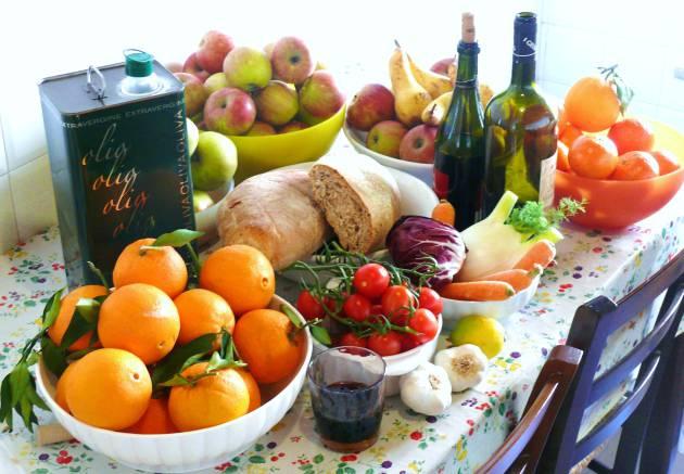 Dieta mediterrânea: uma receita muito útil na 3ª idade.