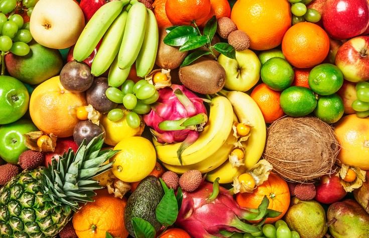 Quais as frutas que contém mais açúcar?